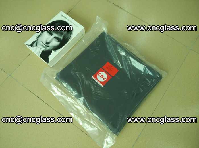 Transparent color grey eva glass interlayer film samples (16)