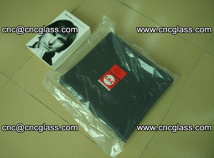 Transparent color grey eva glass interlayer film samples (17)