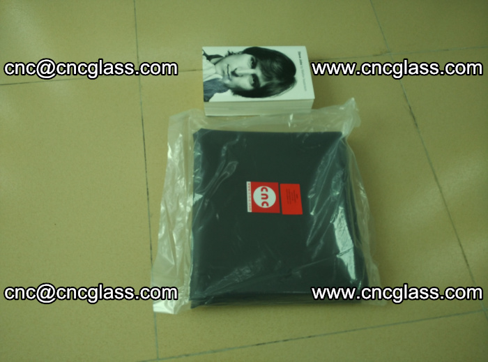 Transparent color grey eva glass interlayer film samples (19)