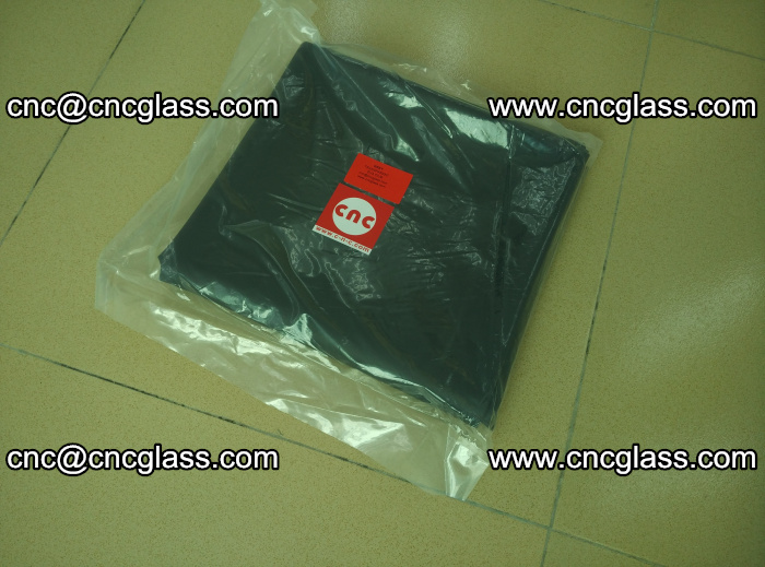 Transparent color grey eva glass interlayer film samples (2)