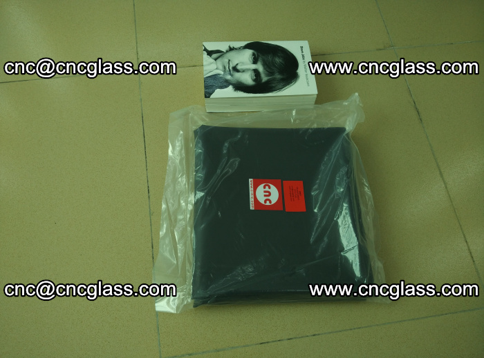 Transparent color grey eva glass interlayer film samples (21)