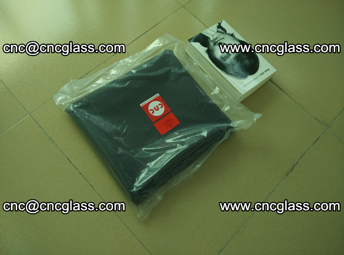 Transparent color grey eva glass interlayer film samples (23)