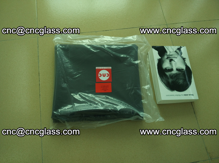 Transparent color grey eva glass interlayer film samples (25)