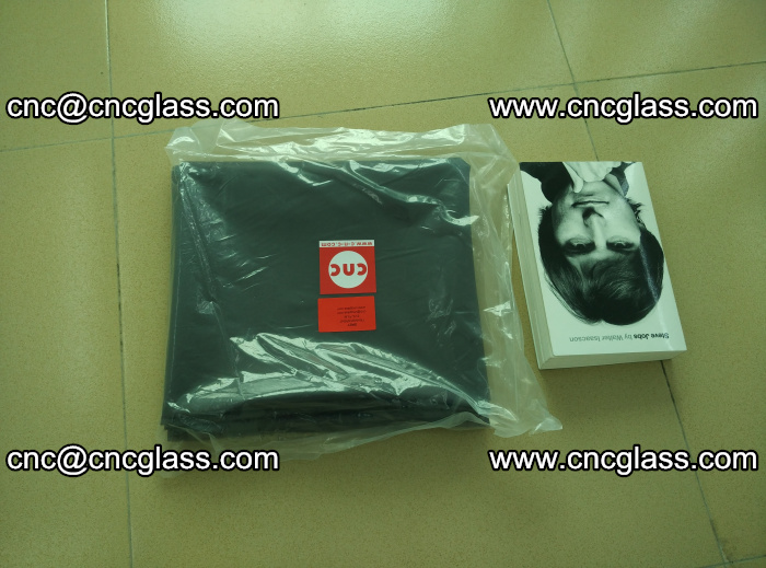 Transparent color grey eva glass interlayer film samples (26)