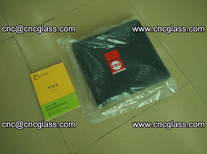 Transparent color grey eva glass interlayer film samples (27)
