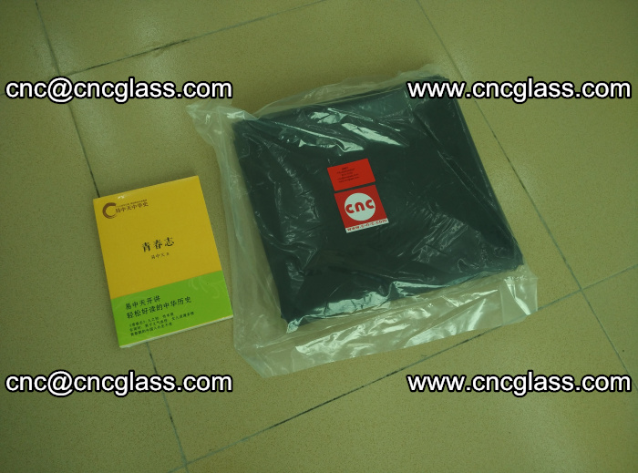 Transparent color grey eva glass interlayer film samples (28)