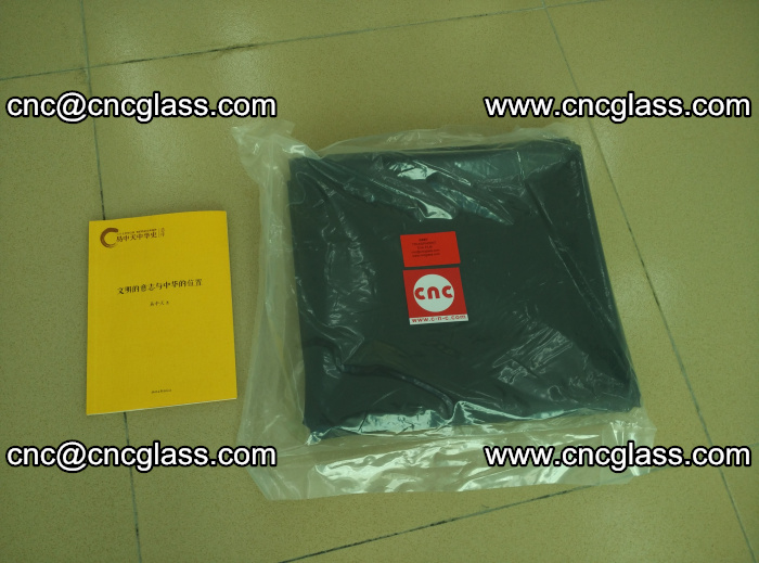 Transparent color grey eva glass interlayer film samples (3)