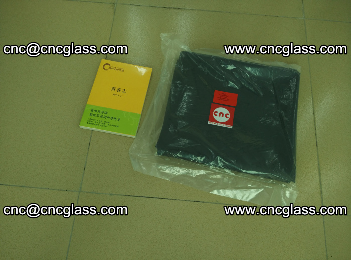 Transparent color grey eva glass interlayer film samples (31)