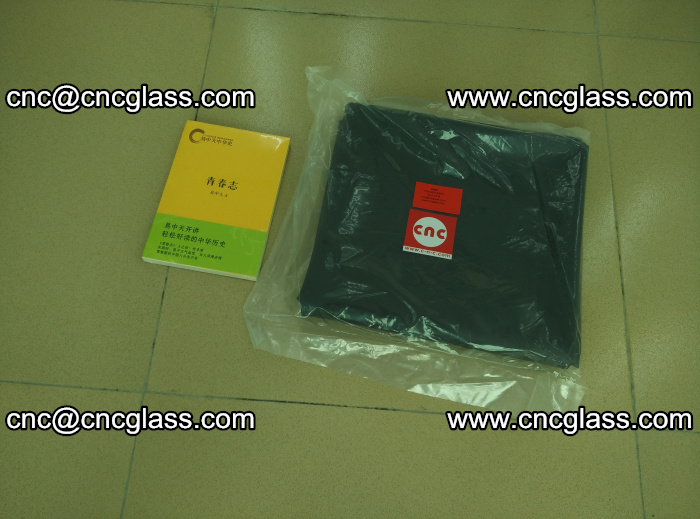 Transparent color grey eva glass interlayer film samples (32)