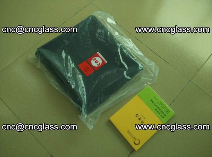 Transparent color grey eva glass interlayer film samples (33)