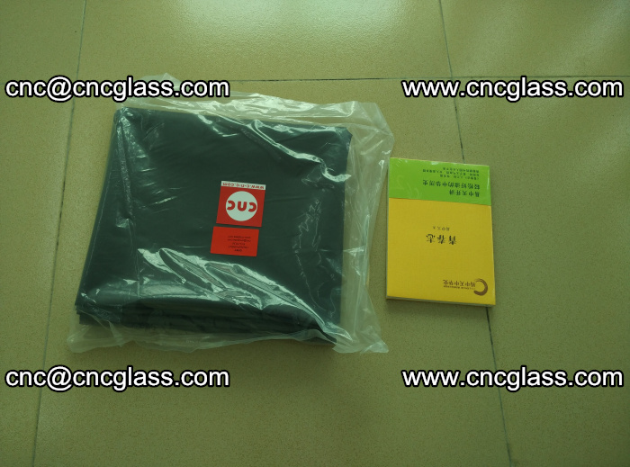 Transparent color grey eva glass interlayer film samples (36)