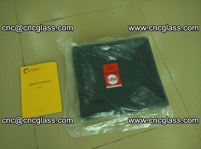 Transparent color grey eva glass interlayer film samples (4)