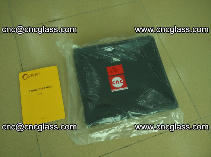 Transparent color grey eva glass interlayer film samples (5)