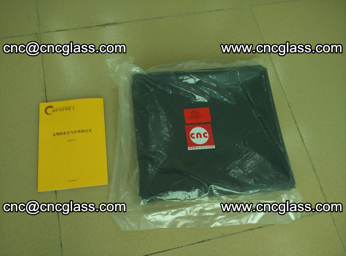 Transparent color grey eva glass interlayer film samples (7)