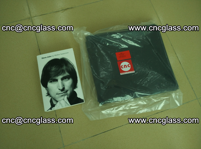 Transparent color grey eva glass interlayer film samples (8)