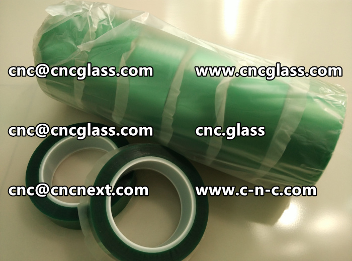 PET GREEN TAPE FOR SAFETY GLAZING (1)