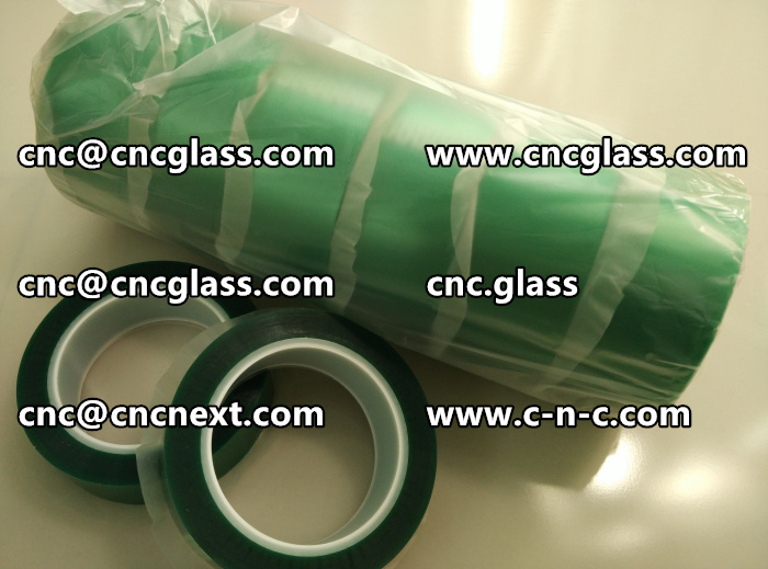 PET GREEN TAPE FOR SAFETY GLAZING (3)