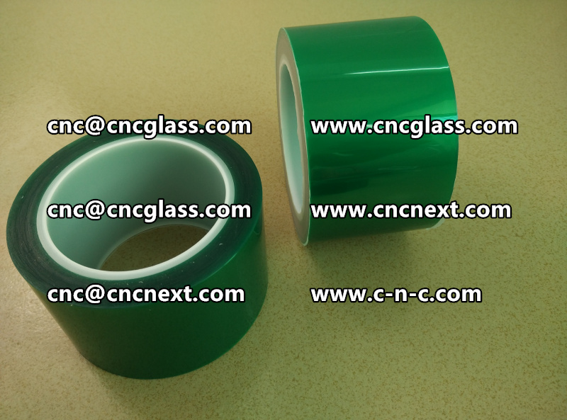 Thermal green tape for laminated glass (2)