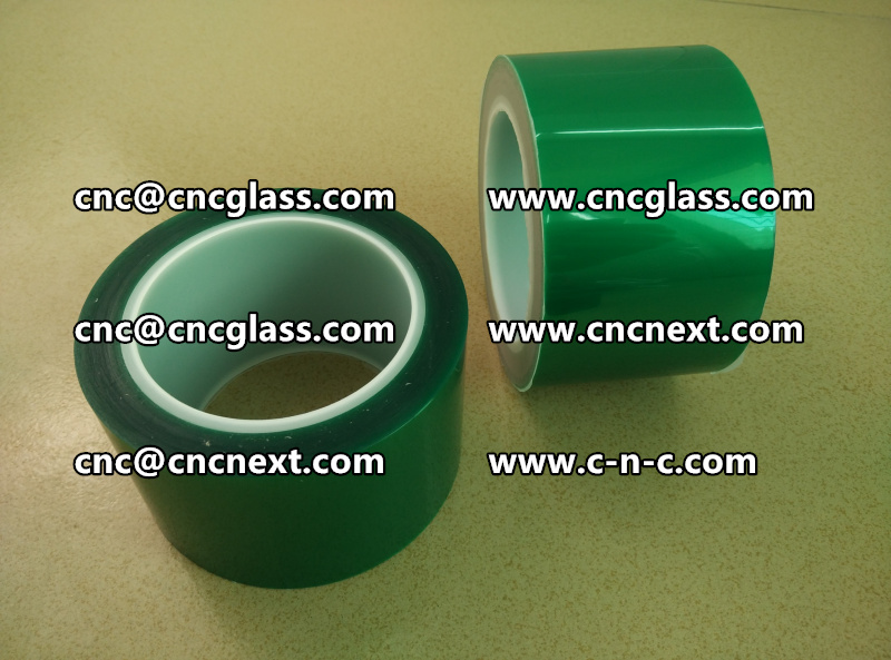 Thermal green tape for laminated glass (4)