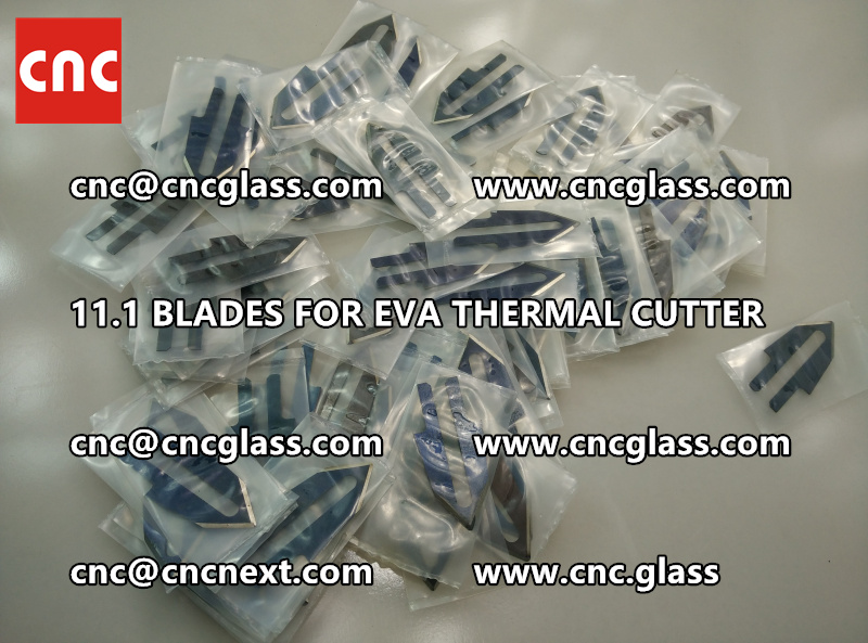 BLADES 11.1 of hot knife heating cutter trimming laminated glass edges (2)