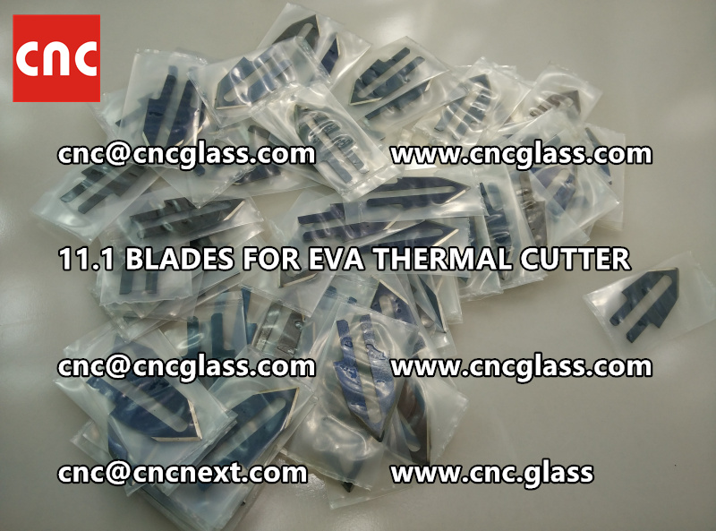 BLADES 11.1 of hot knife heating cutter trimming laminated glass edges (3)