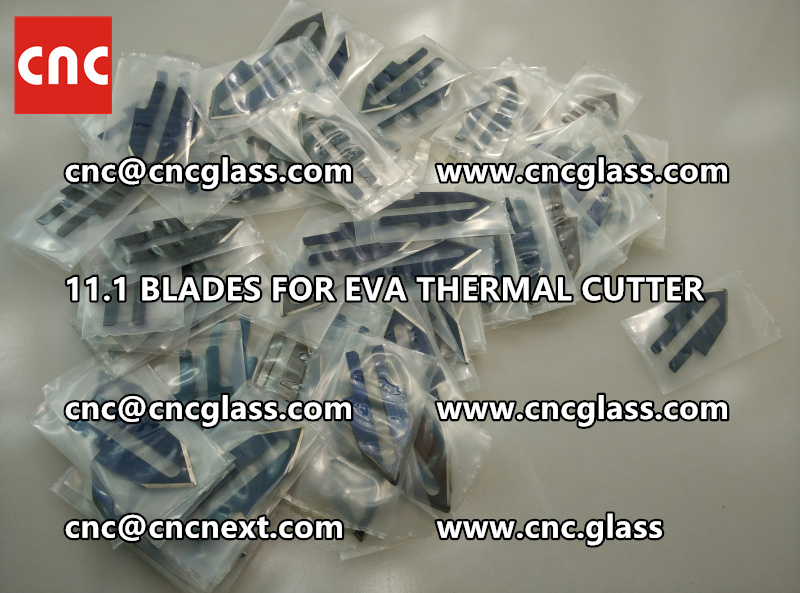 BLADES 11.1 of hot knife heating cutter trimming laminated glass edges (5)