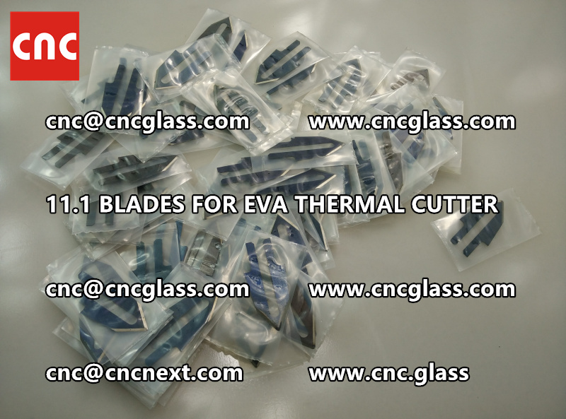 BLADES 11.1 of hot knife heating cutter trimming laminated glass edges (6)