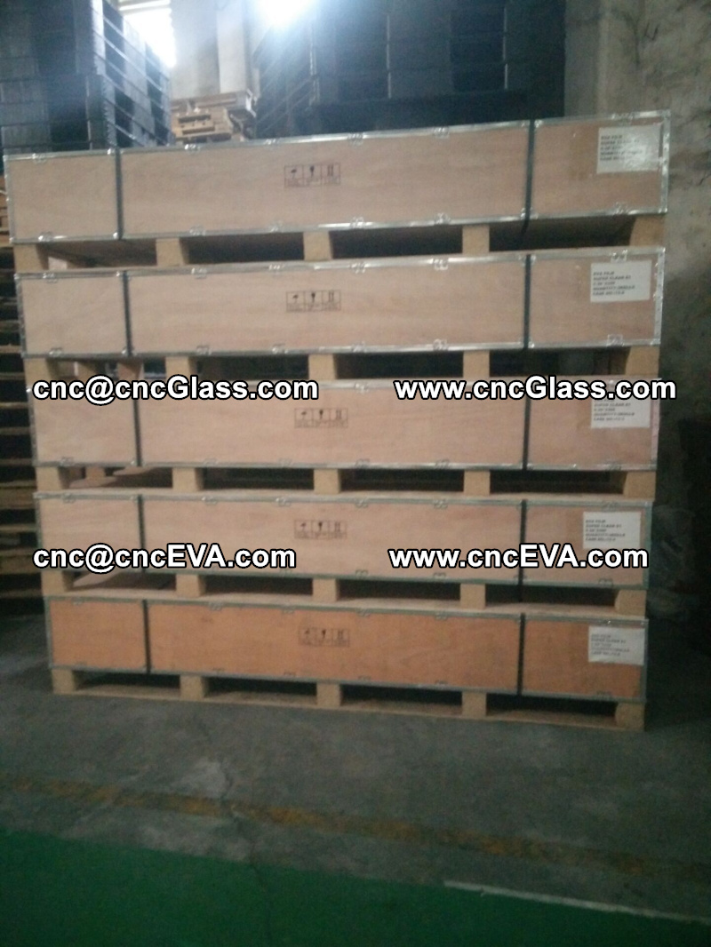 eva glass interlayer plywood case packing (2)